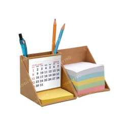 Folding Paper Cube with calender