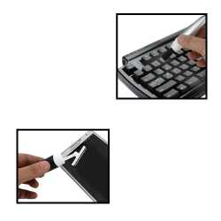 Pen Shape Mobile & PC Cleaner with Stylus