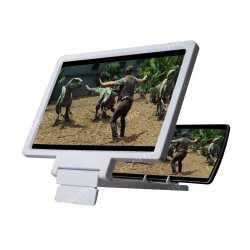 3D Portable mobile screen Magnifier