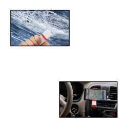 Car Mobile Holder With Emergency Hammer