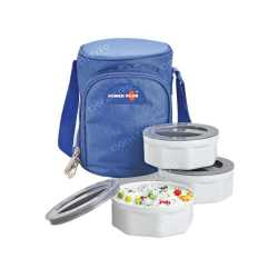 Zippy Lunch Bag with 3 Food Grade Plastic Container