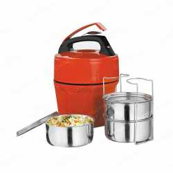 Lunch Box with 3 Stainless Steel Container