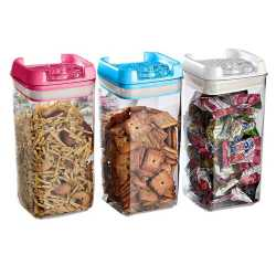 3 Set Multipurpose Air-tight Containers